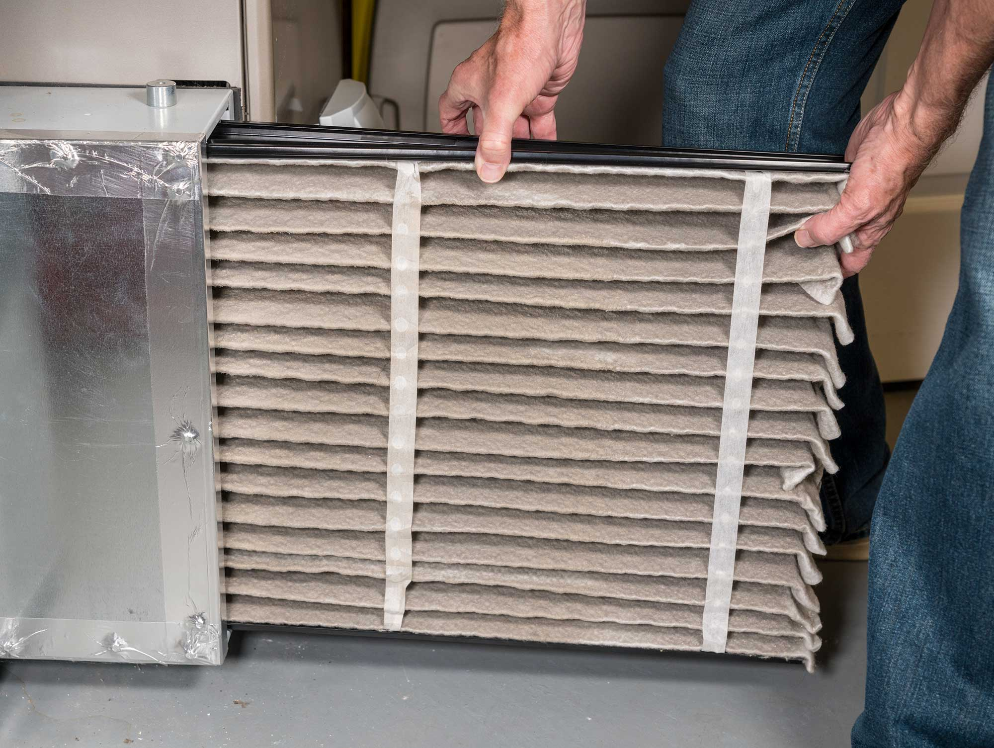 Air-Filtration-Dirty-Filter